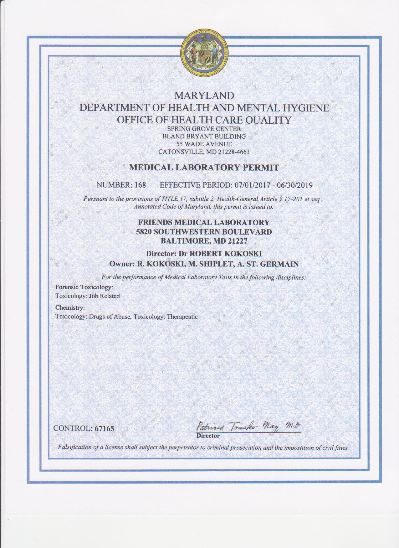 Certification Friends Lab